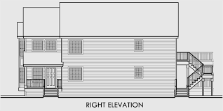 Duplex House Plans For Narrow Lots Stacked Duplex House Plans Duplex House Plans With Garage