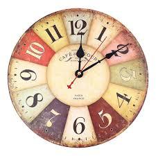 Grande Horloge Murale Pas Cher by Amazon Fr Pendules Et Horloges Cuisine U0026 Maison Pendules
