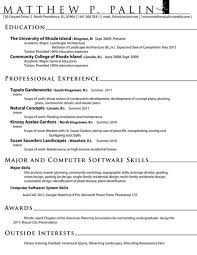 Sample Architect Resume by Stunning Design Ideas Landscape Resume 12 The 25 Best Ideas About