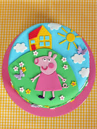 peppa pig birthday cakes butter hearts sugar peppa pig birthday cake