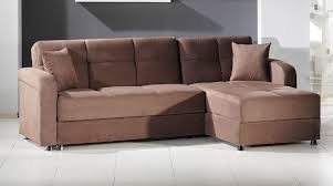 Convertible Sofa Sleeper Vision Sectional Convertible Sofa Bed In Rainbow Brown Truffle