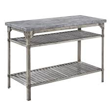 Furnitures Awesome Stainless Steel Prep Table For Kitchen - Kitchen prep table