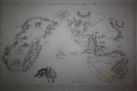 Map Of Mordor Map Of Middle Earth And The Undying Lands By Dominikfanta On