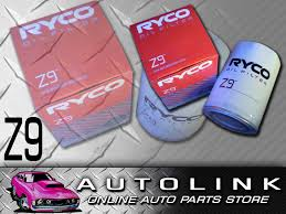 ryco z9 replacement oil filter suit ford falcon xh ea eb ed ef el