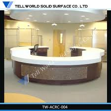 Acrylic Reception Desk Desk Wondrous Hotel Reception Desk Dimensions For Your House