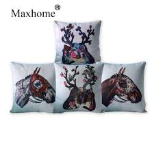 Stag Cushions Online Get Cheap Stag Cushions For Sofas Aliexpress Com Alibaba