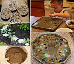 Diy Garden Crafts - 20 best crafts for the garden one little project