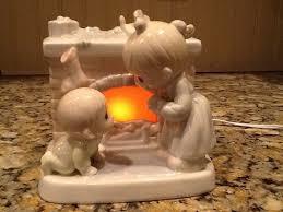 precious moments night light precious moments waiting for a merry christmas porcelain night