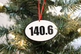 140 6 triathlon ornament great gift for ironman