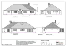 collection architectural plan of bungalow photos free home