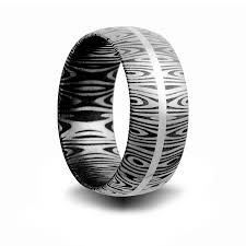 Steel Wedding Rings by Jewelry By Rhonda Wedding Rings Wedding Bands Alternative