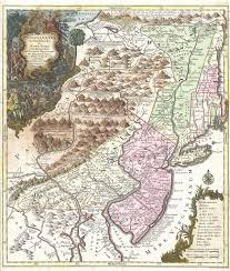 Maps Of Pa File 1756 Lotter Map Of Pennsylvania New Jersey New York