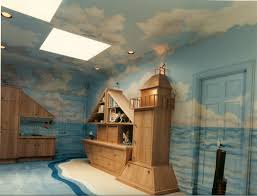 bonnie siracusa murals fine art marine mural for playroom opposite wall oyster bay cove ny