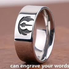 Custom Monogram Rings Aliexpress Com Buy Custom Star Wars Rings Monogram Name