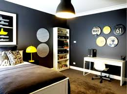 handsome bedroom ideas teenage boys design with black grey bed