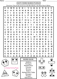 easy word search kids activities