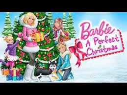 barbie perfect christmas coloring pages