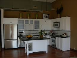 charming apartments kitchen design ideas with beige wall paint and