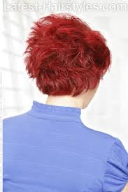 hair that is asymetric in back 29 short choppy haircuts that are popular for 2018