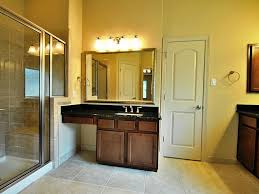 huge double sink vanity with makeup table new house pinterest