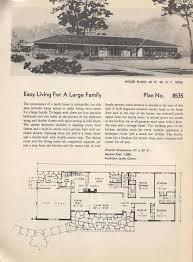 Mid Century Modern Ranch House Plans 127 Best Mid Century Floor Plans Images On Pinterest Vintage