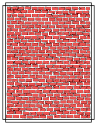 free clipart of a brick wall