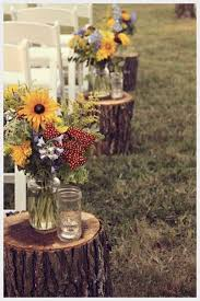 Country Backyard Wedding Triyae Com U003d Simple Rustic Backyard Wedding Various Design
