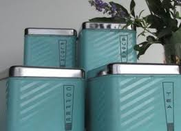 teal kitchen canisters blue glass kitchen canister set vintage glass can canister