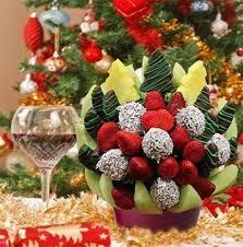 christmas fruit arrangements winter edible fruit arrangements 74 99