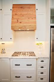 Kitchen Hood Under Cabinet Timber Cladding To Cover That Ugly Range Hood New House