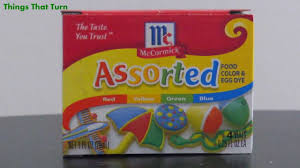 mccornicks assorted food coloring my video museum youtube