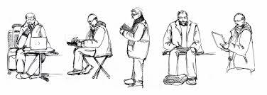 new york city urban sketchers lincoln center feb 8th