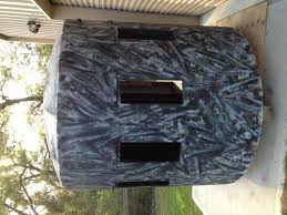 Bow Hunting From Ground Blind Show Off Your Homemade Ground Blinds 2coolfishing