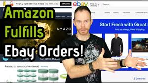 how to get amazon to fulfill all your orders from ebay shopify