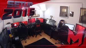 mrlev12 et sa gaming room setup 2015 youtube