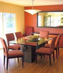 Various Dining Room Paint Colors For Your House Classy - Burnt orange dining room