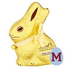 lindt easter bunny lindt gold bunny white chocolate 200g from ocado