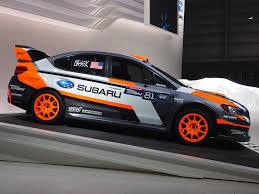 subaru wrc 2015 subaru debut new rallycross fighter for 2015 at new york
