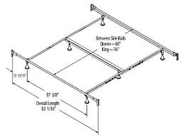 King Bed Frame Measurements Standard Bed Frame Bed Frame Katalog 121c61951cfc