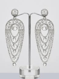 Chandelier Earrings India Silver Chandelier Earrings Shopping Shop For Great