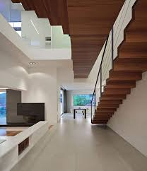 Interior Design Of Simple House Pool U0026 Backyard Awesome White Themed J20 House Interior Staircase