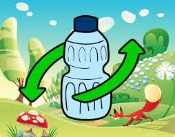 imagenes animadas sobre el reciclaje dibujo de botella de agua pintado por bianque en dibujos net el día
