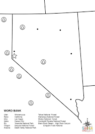 Black Rock City Map Nevada Map Worksheet Coloring Page Free Printable Coloring Pages