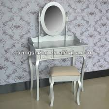 provence french shabby chic finish silver wood dressing table