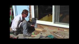 sliding glass door roller assembly sliding glass door roller repair youtube