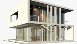 modern beach house model