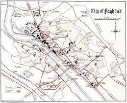 Baghdad Map Modern Baghdad