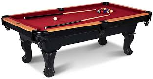 pool table l shade replacement barrington 8 ft glendale billiard pool table with cue set and