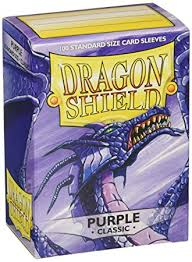 dragon shield standard sleeves purple amazon uk toys u0026 games
