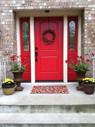 Red Door Home Decor Red Front Door Sherwin Williams Heartthrob The New Color Of